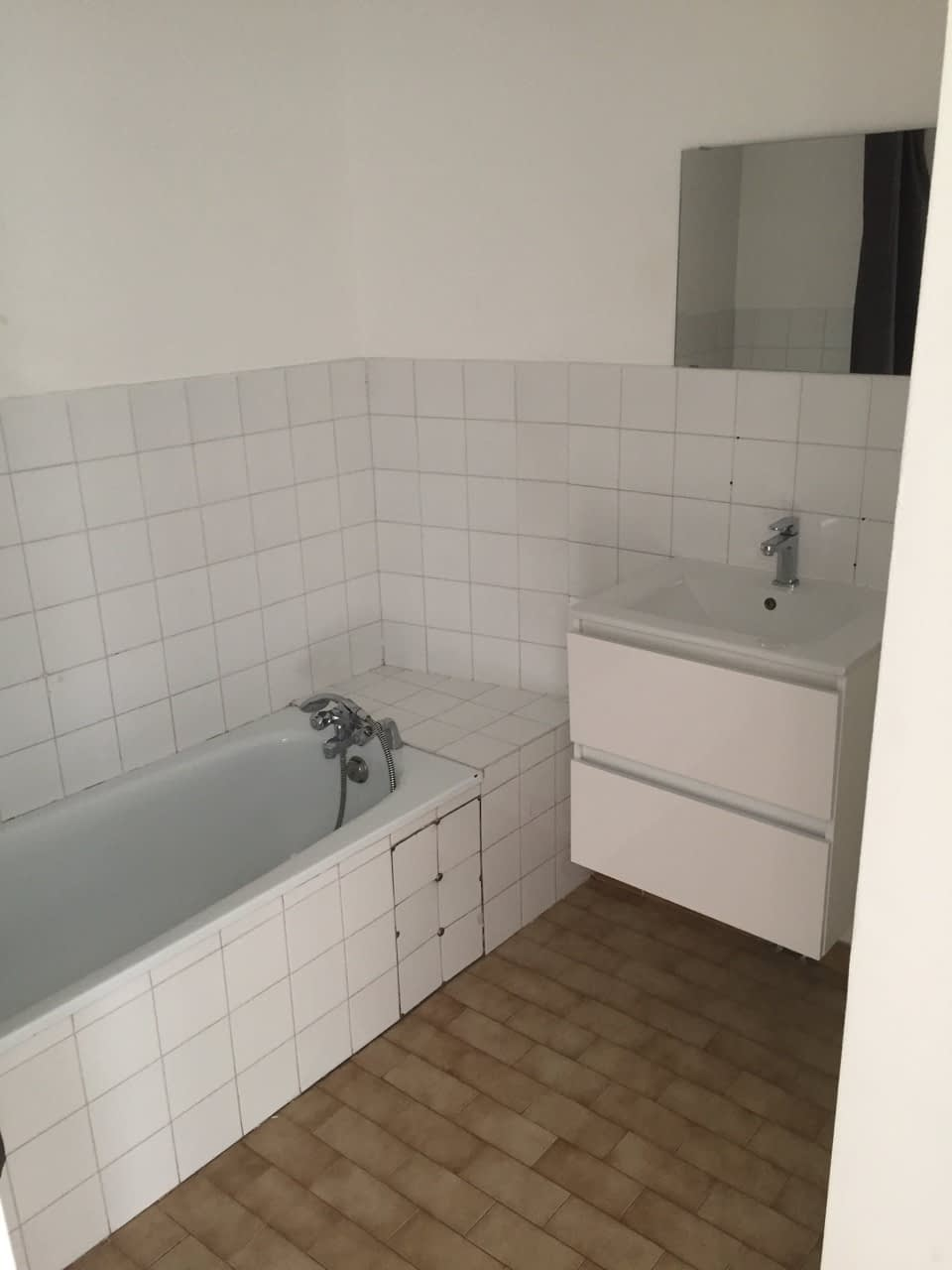 Avant rénovation salle de bain