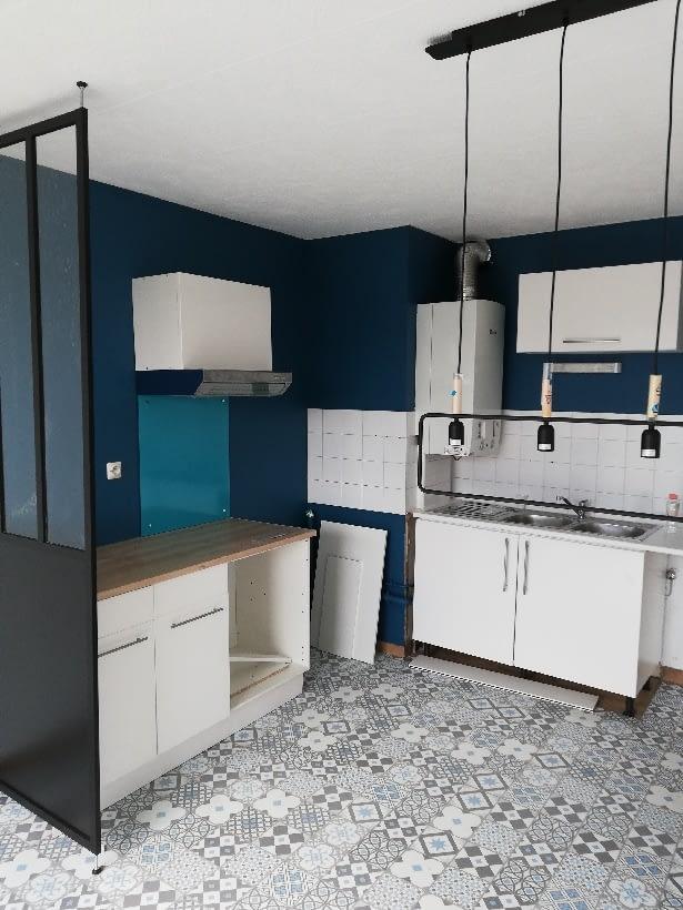 Rénovation cuisine 1 - après travaux - vivre-de-limmobilier.fr